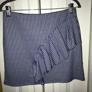 Brand new Topshop Mini Plaided Skirt